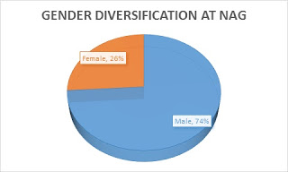 Gender Diversification Graph