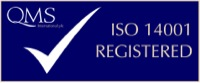 QMS International ISO14001 badge
