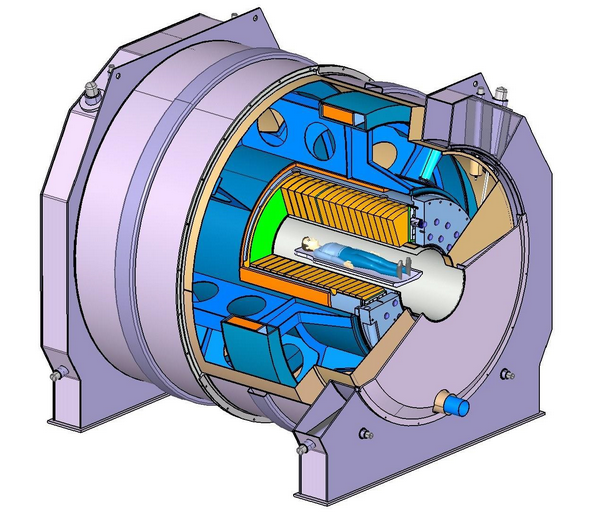 MRI magnet section