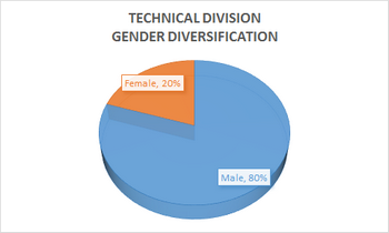 technical division diversity