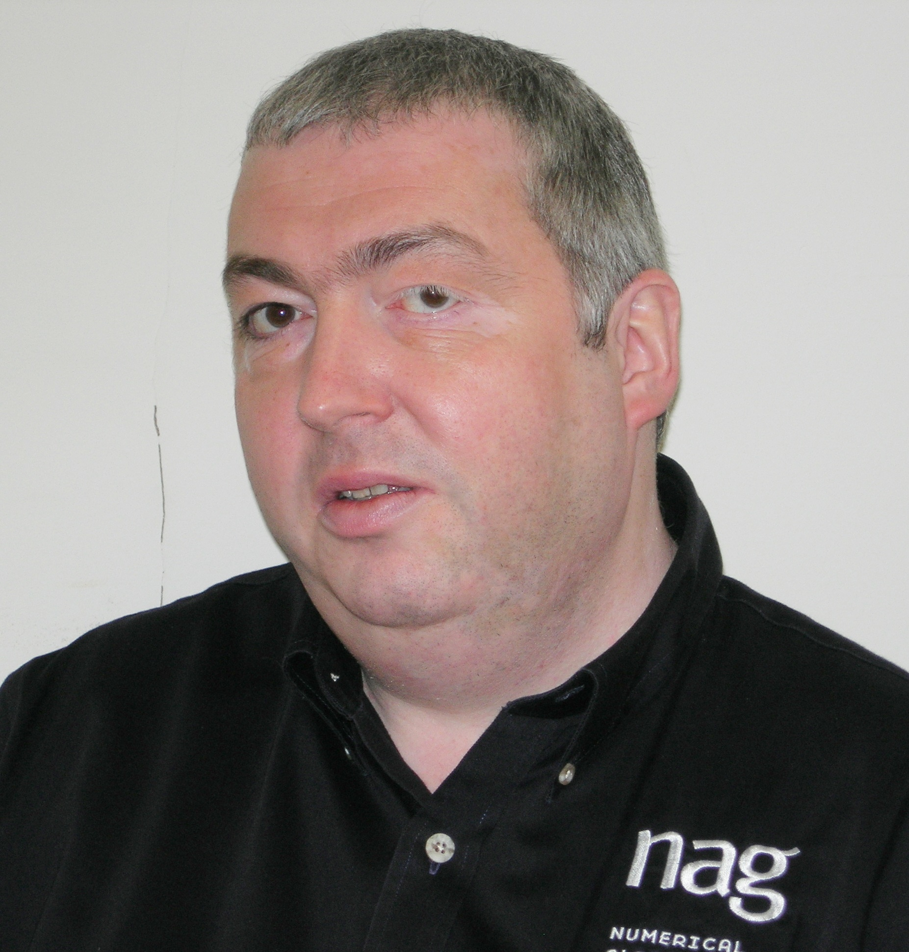 Photo of Mike Dewar, Chief Technical Officer, NAG Group